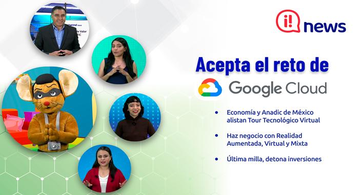 Acepta el reto de Google Cloud