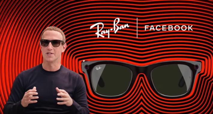 Facebook presenta Ray-Ban Stories: lentes inteligentes para capturar foto y video