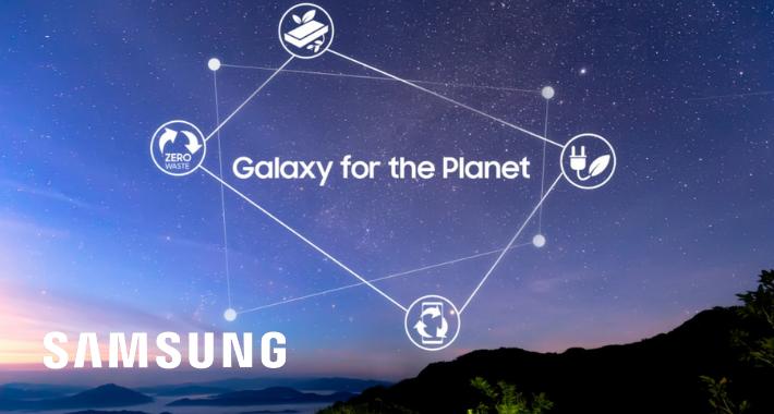 Galaxy for the Planet: Sostenibilidad Samsung