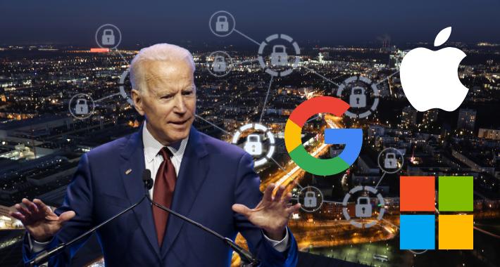 Joe Biden pone a trabajar estrategia de ciberseguridad a Google, Apple y Microsoft