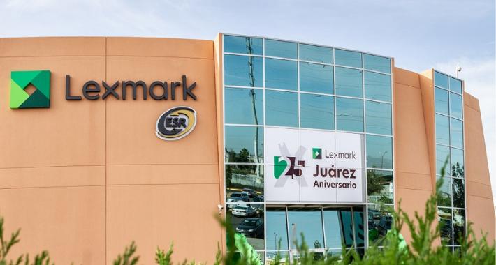 Lexmark cumple un cuarto de siglo de producir en Ciudad Juárez