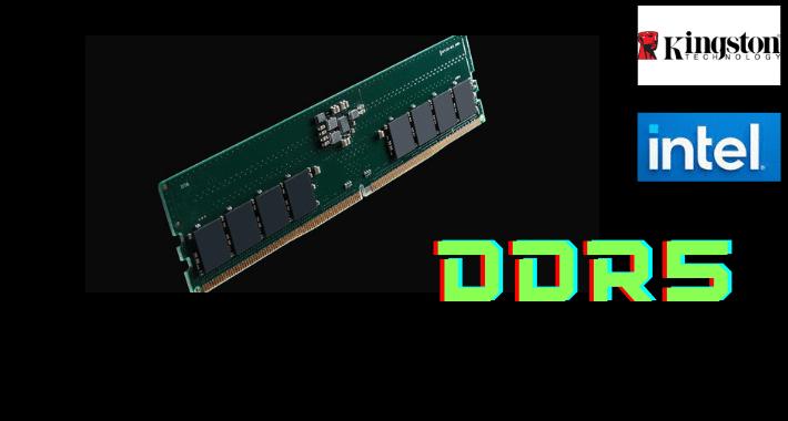Ya viene la memoria DDR5 de Kingston Technology