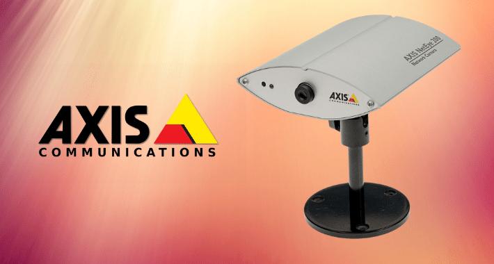 Axis celebra los 25 años de la cámara IP
