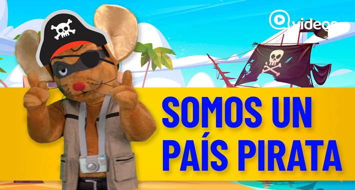 La del pirata cojo con pata de palo